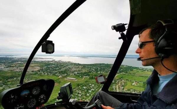 Полеты на вертолете СПб цена