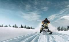 Прокат снегоходов