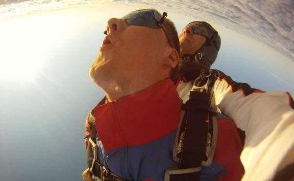 Прыжок с парашютом СПб с инструктором цены