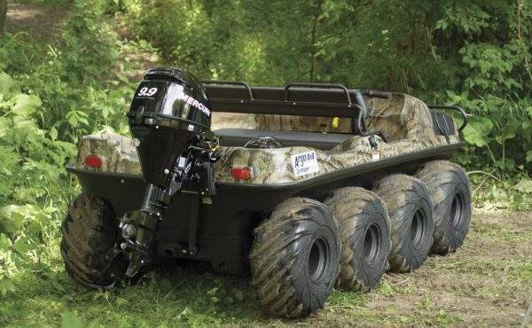 Argo 8X8 750HDI offroad experience
