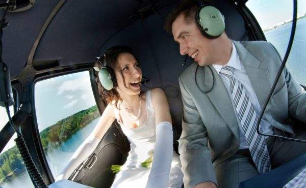 Wedding Helicopter 2 min